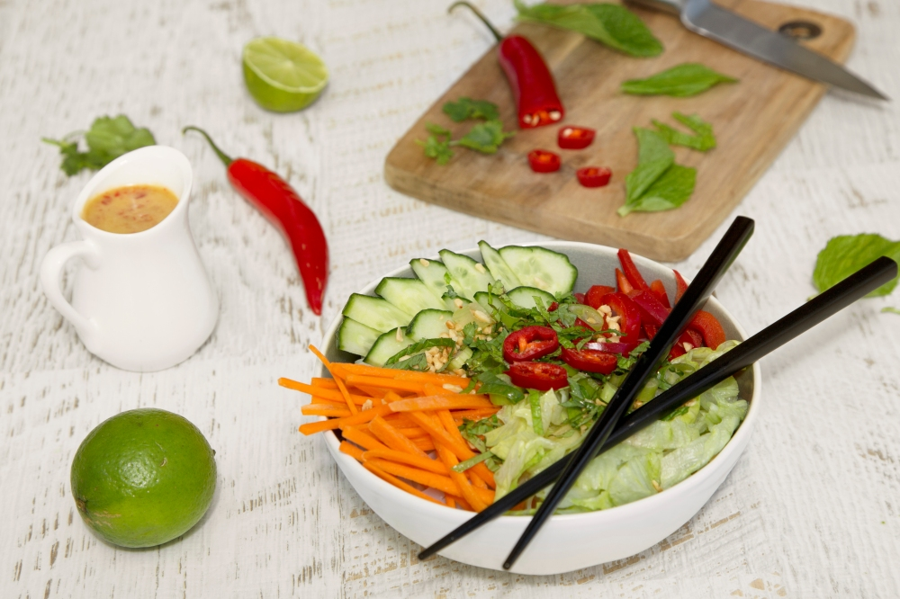 Noodle bowl, vietnamese, a dietitian and a photographer 4
