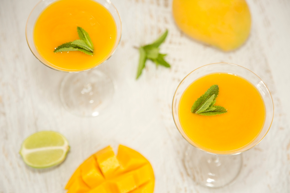 Mango Daiquiri, A Dietitian and a Photographer Cocktail recipe