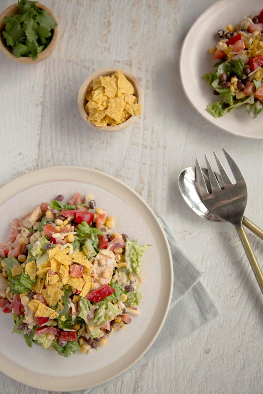 Barbeque Chicken Crunch Salad3