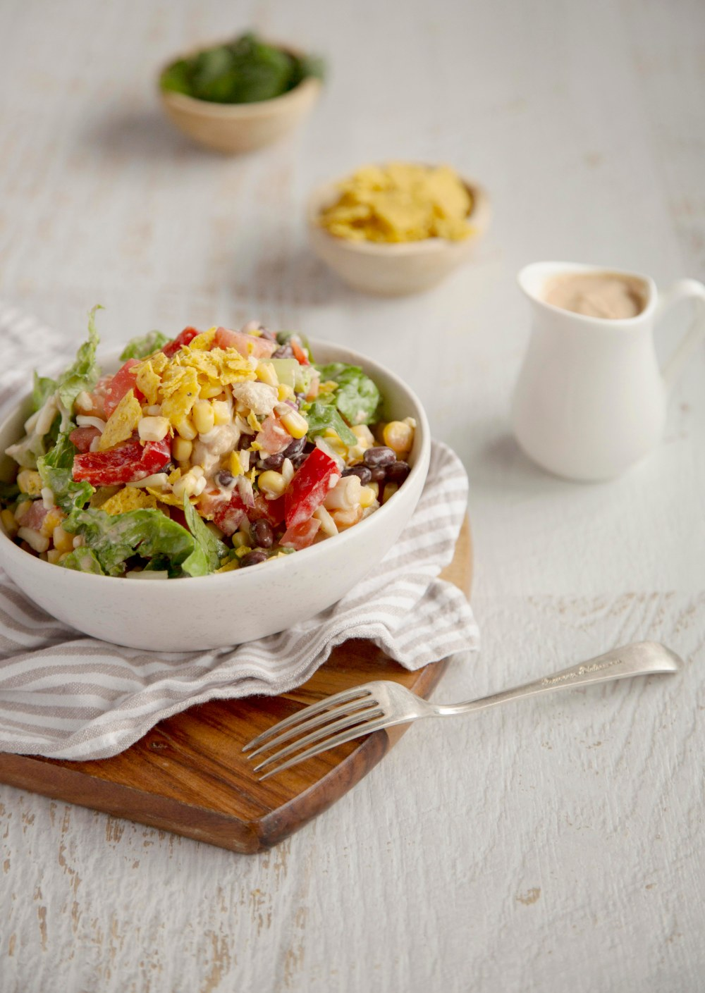 Barbeque Chicken Crunch Salad7