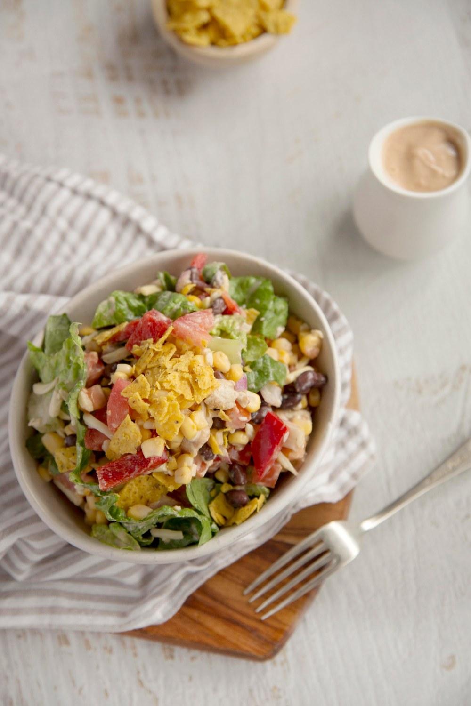Barbeque Chicken Crunch Salad8