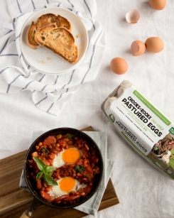 Baked Eggs - A Dietitian and a Photographer1